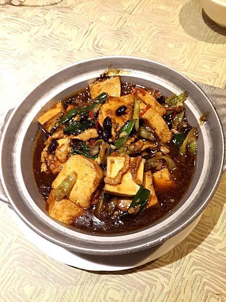 圖5 彭園的另一道名菜「彭家豆腐」
