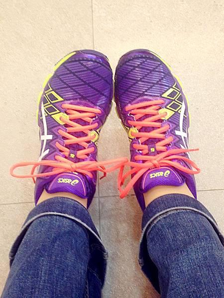 圖1 穿上我新買的運動鞋