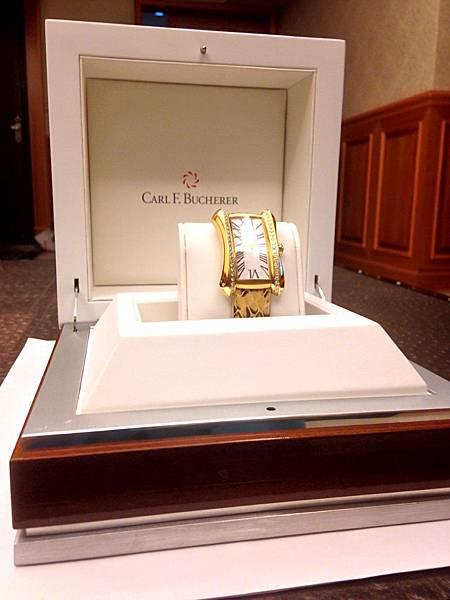 圖3 Bucherer腕錶的包裝盒精緻考究