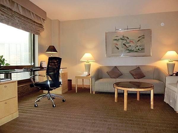圖7 南京金陵酒店行政套房