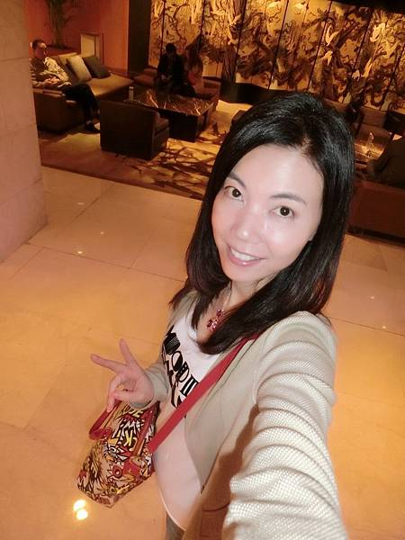 圖15 我在南京金陵酒店內