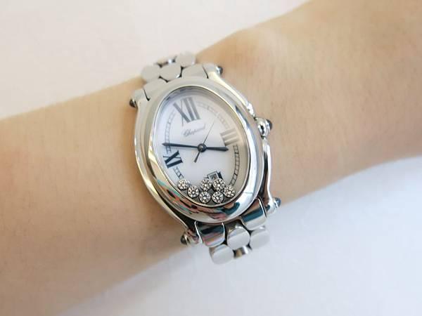 圖4 我佩戴蕭邦腕錶