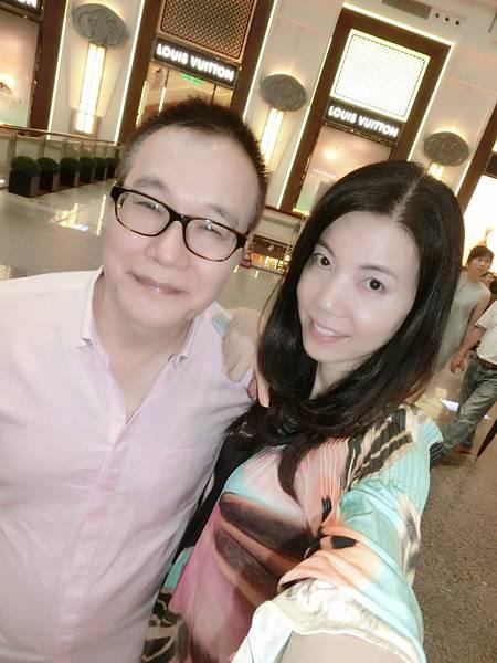 圖2 我和咪呢在台北101