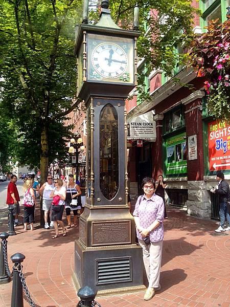 圖5 溫哥華蓋斯鎮的蒸汽鐘