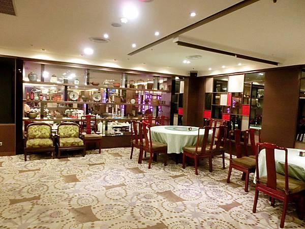 圖3 蓬萊邨台菜廳接待區