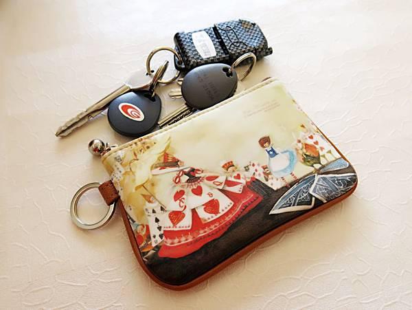 圖2 新買的童話小包用做鑰匙包