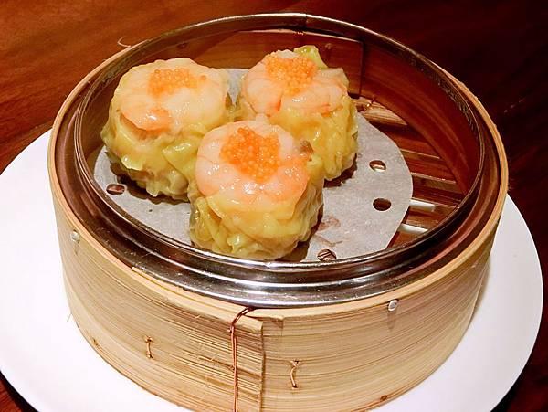 圖9 嘉麟樓的蟹黃鮮蝦燒賣