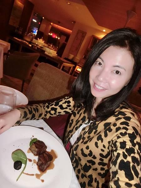 圖25 我在Angelini享用生日大餐