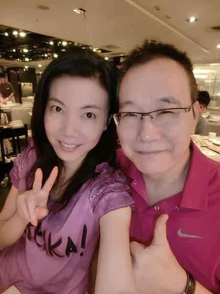 圖2 2014年我和咪呢在台北~紅豆食府