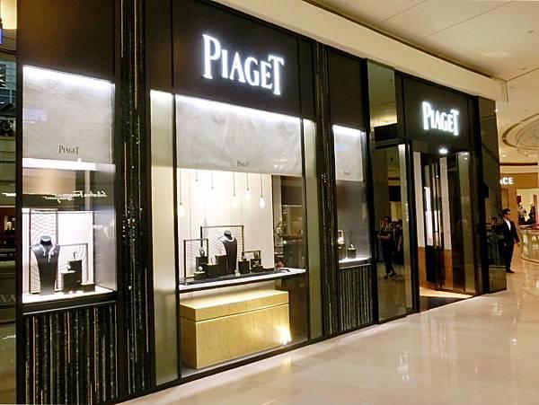 圖3 伯爵Piaget專賣店外觀