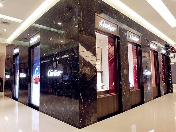 圖1 卡地亞Cartier專賣店