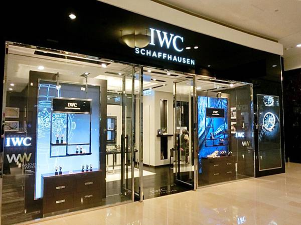 圖3 萬國IWC專賣店