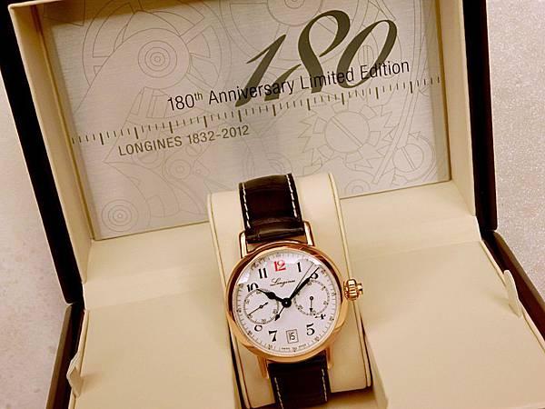 圖8 浪琴Longines 180周年限量男錶