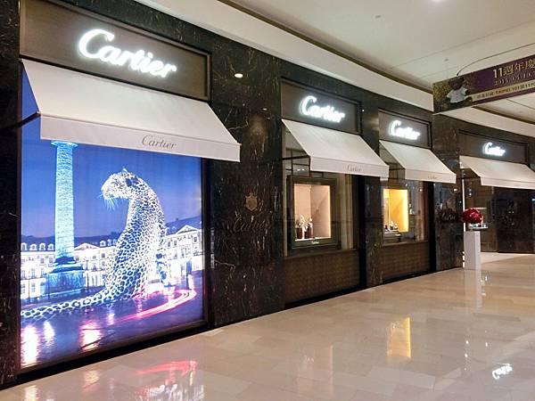 圖10 卡地亞Cartier專賣店