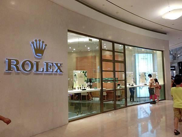 圖11 勞力士Rolex專賣店
