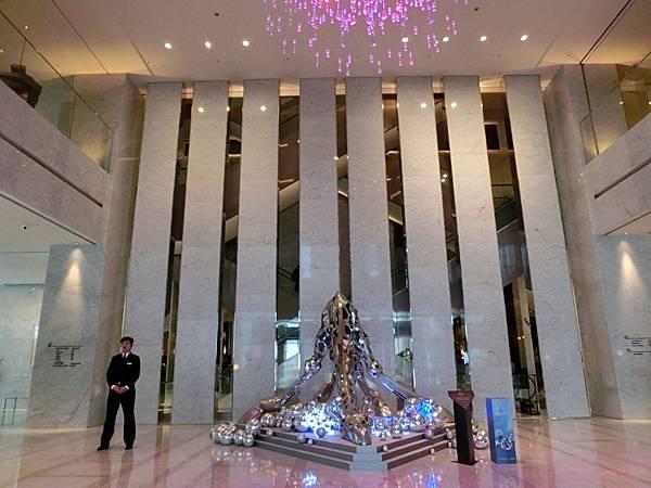 圖2 寒舍艾美酒店一樓Lobby