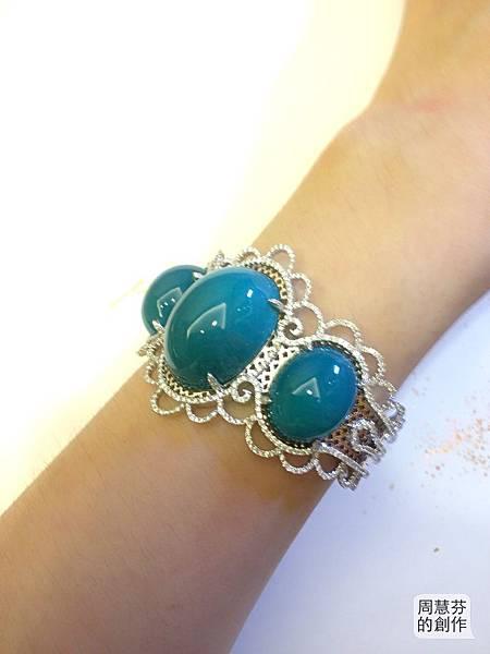 圖6 我設計的台灣藍寶鑽石手環