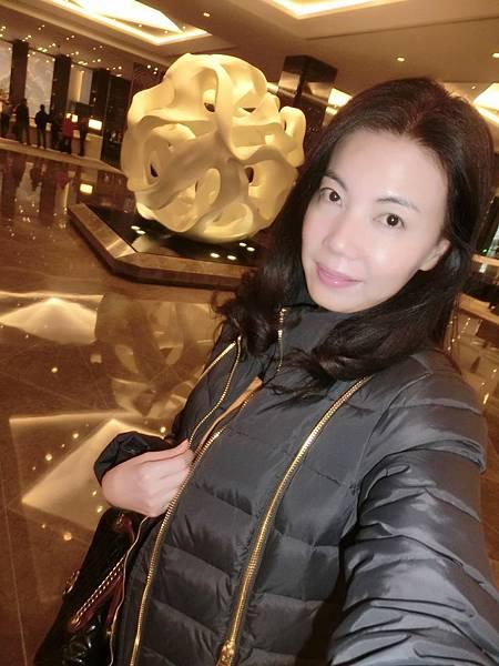 圖3 1月15日我在金陵飯店亞太商務樓Lobby