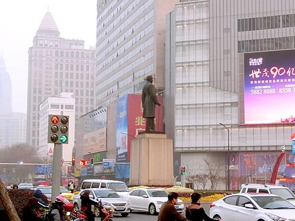 圖5 南京市漢中路與中山路交叉口大圓環