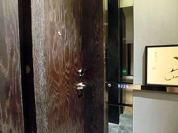 圖13 金陵亞太商務樓客房門口