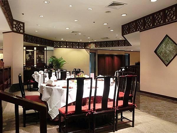 圖20 金陵飯店梅苑中餐廳內觀