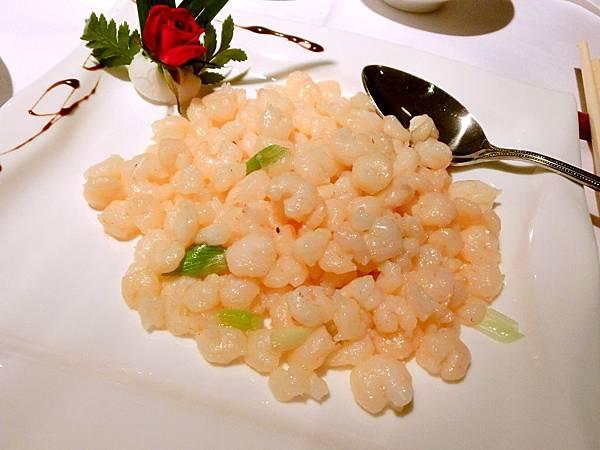 圖24 梅苑的清炒河蝦仁