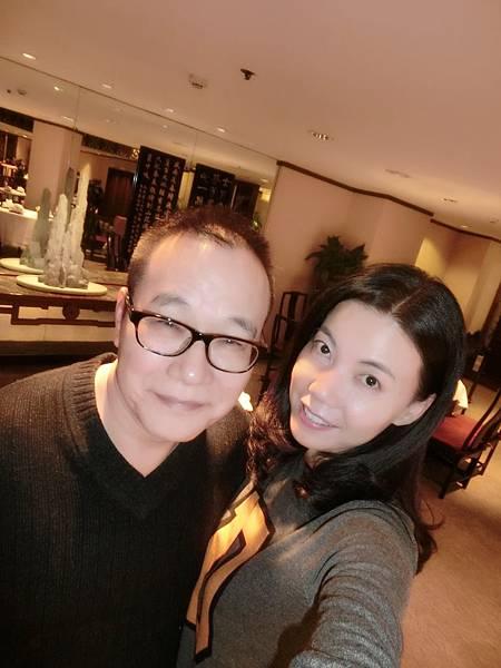 圖26 1月15日我和咪呢在梅苑享用晚餐