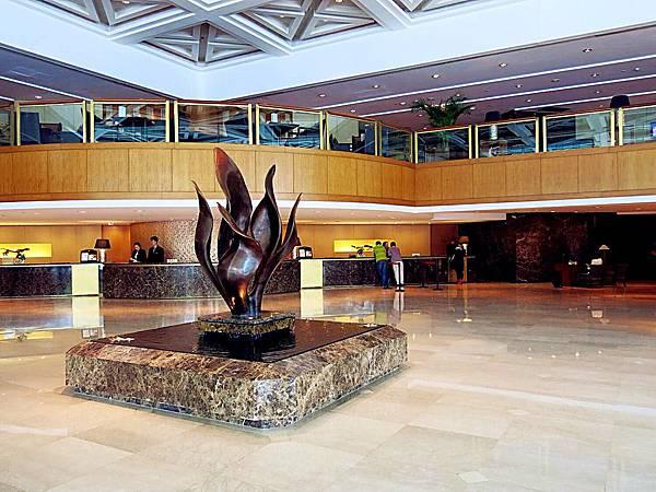 圖4 金陵飯店舊館Lobby
