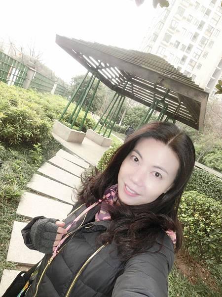 圖22我在南京老家,臉和心都被凍僵了。