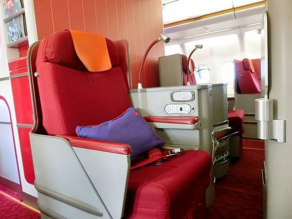 圖11 香港航空商務艙
