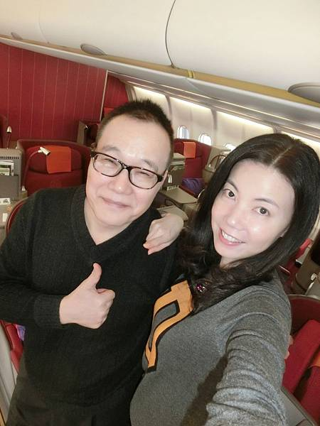 圖12 我和咪呢在香港航空