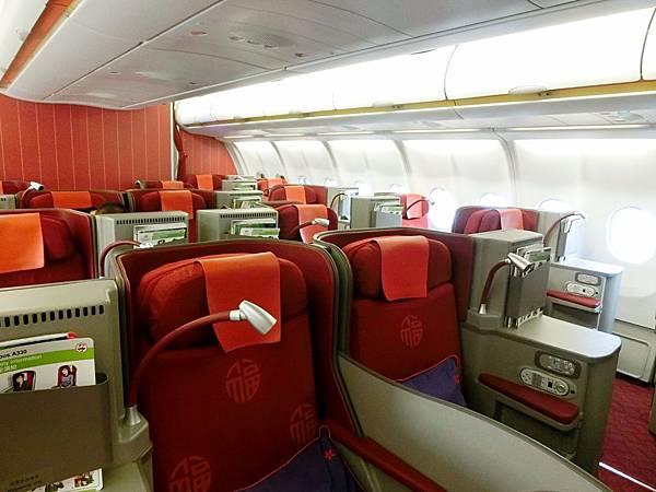 圖13 香港航空商務艙