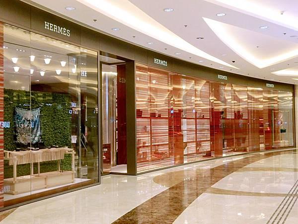 圖12 香港圓方商場愛馬仕專賣店