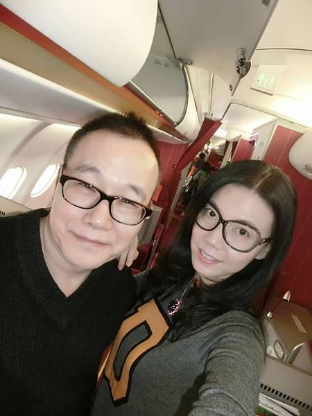圖1 我和咪呢在香港航空