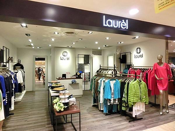 圖2 忠孝Sogo百貨內的Laurel專賣店