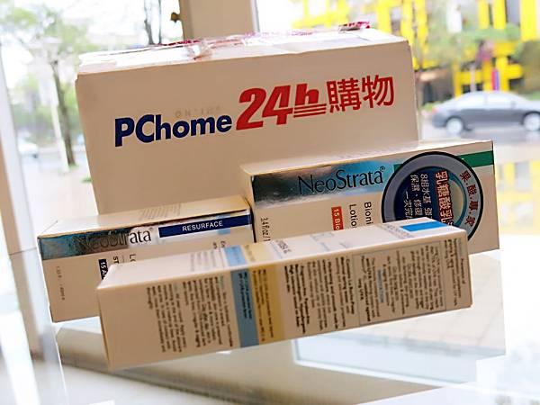 圖2 我向PChome網購的保養品