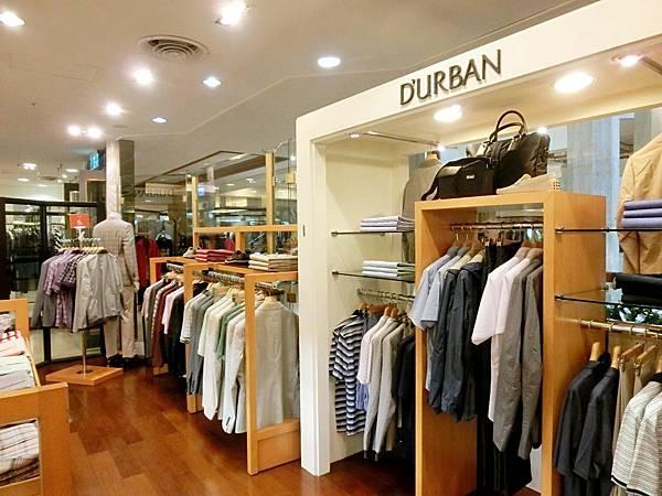 圖3 DURBAN男裝店