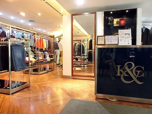 圖4 K&G男裝店