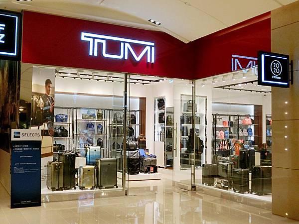 圖2 台北101的TUMI旗艦店