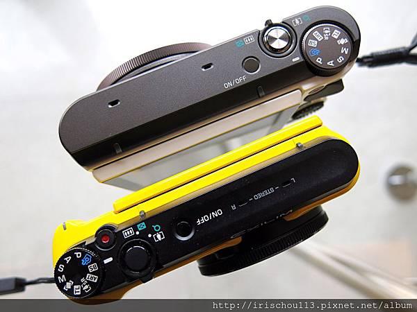圖15 ZR3500的翻轉螢幕厚度比之前兩代略厚一些.JPG