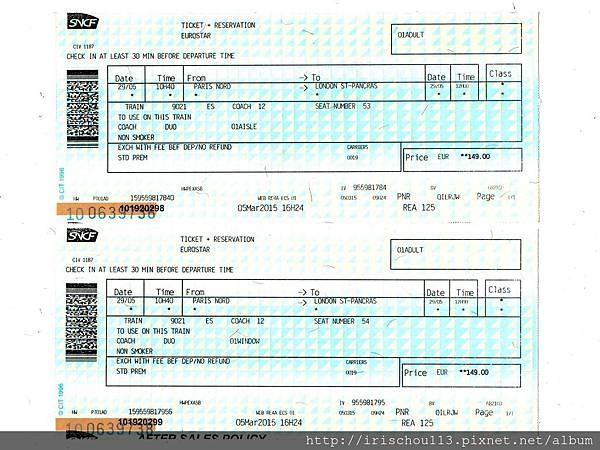 圖5 5月29日巴黎>倫敦Eurostar車票.jpg