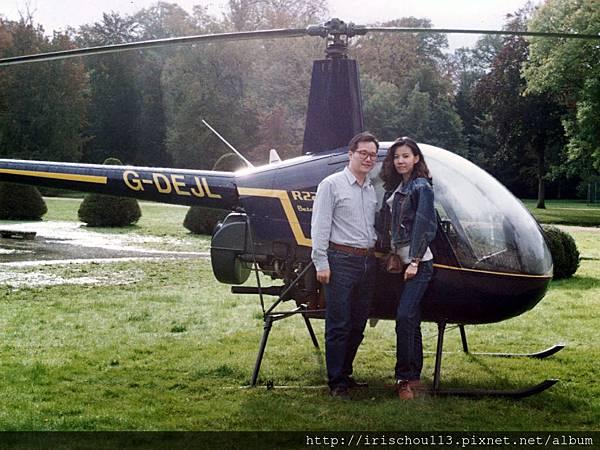 圖5 1993年我和咪呢在蜜月古堡.JPG