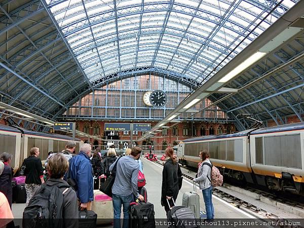 圖10 倫敦St Pancras車站