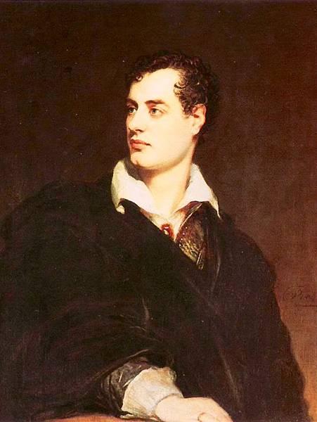 圖5 英國大文豪~拜倫Byron(本圖取自網路)