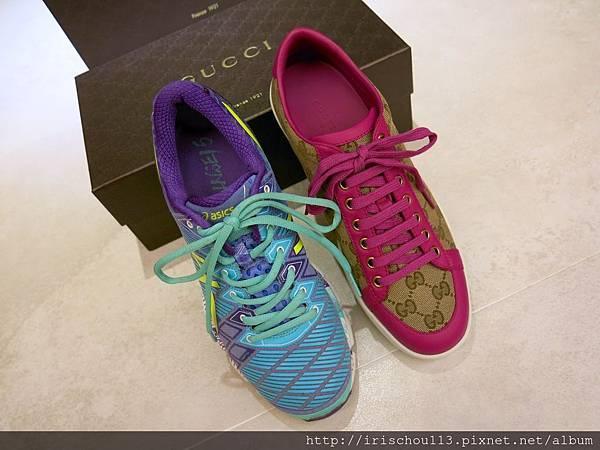 圖18 我的Asics運動鞋&GUCCI休閒鞋.jpg