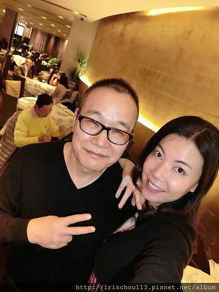 圖62 我和咪呢在皇朝粵菜餐廳.JPG