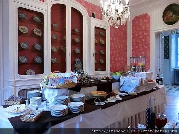 圖8 古堡酒店的自助早餐