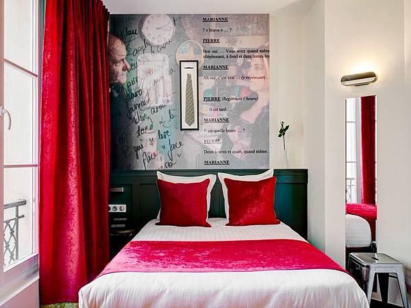 圖4-3補 巴黎123酒店(本圖取自Hotels.com)