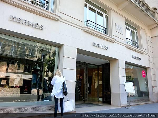 圖39 巴黎左岸的愛馬仕專賣店.jpg