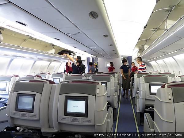 圖21 11月8日華航CI017 A330機艙.jpg